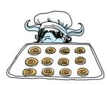 Cinnamon cookies.