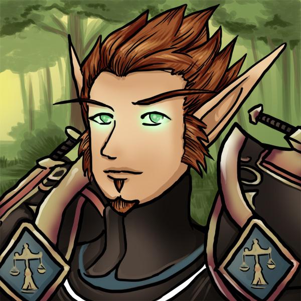 Colour Avatar - Blood Elf Paladin
