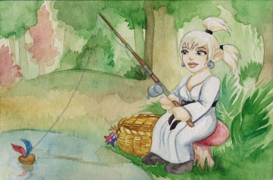 Watercolour - Kandice